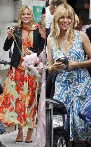 Sienna Miller and kate moss
