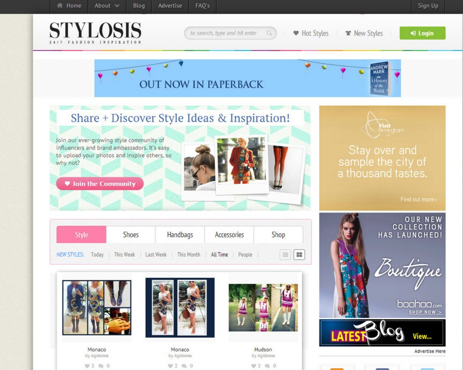 Stylosis the trendiest award_