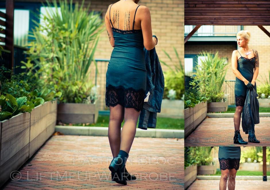 ZARA lingerie dress LMUW AVS