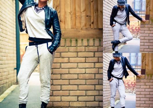 Velour Jogger suit forever21, ZARA , LMUW