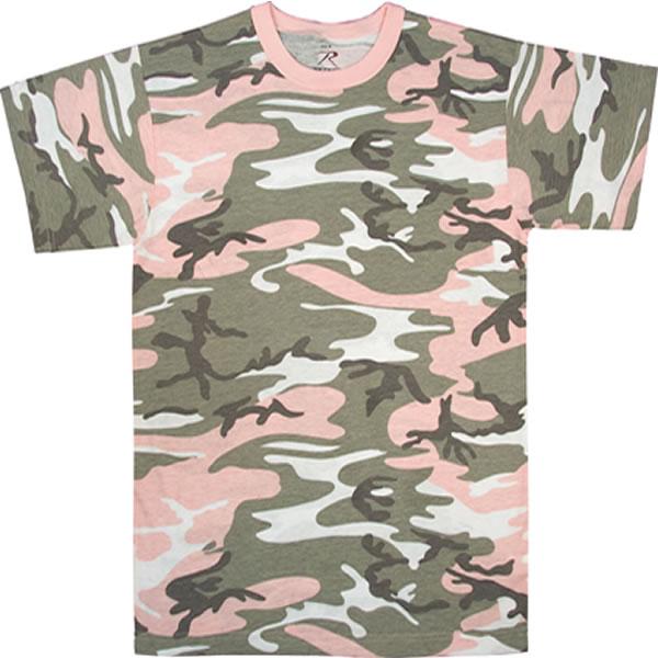 PINK camo Tshirt LMUW AVS