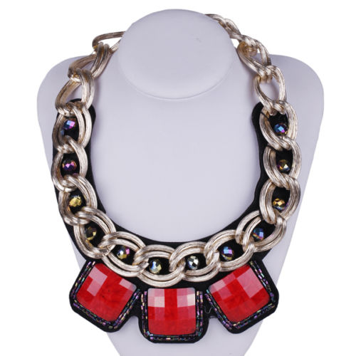 Red stastment necklace LMUW AVS