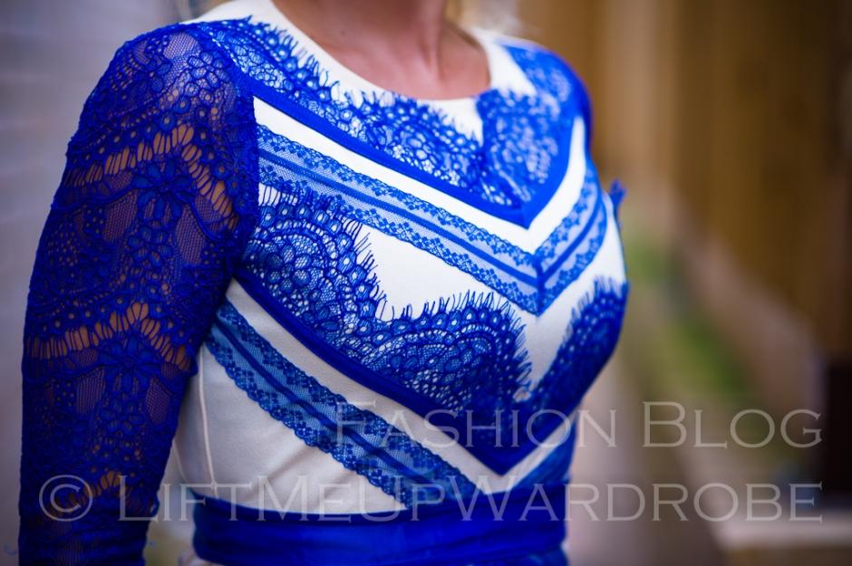 three floor xmas dressmas lace peplum baskinka BRUCHA-0016