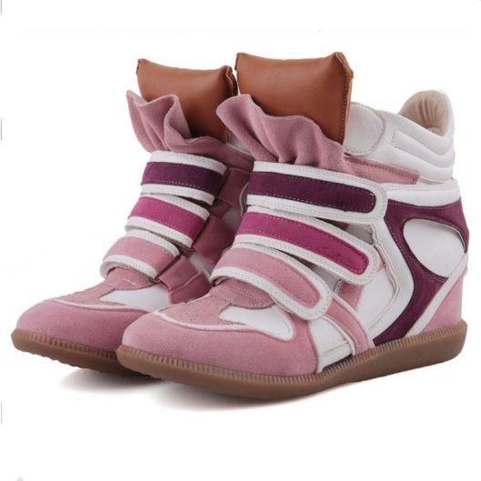 Velcro leather trainers LMUW AVS