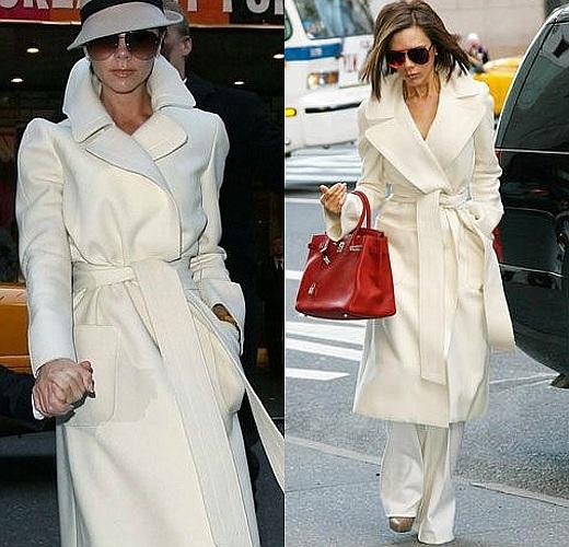 white LONG ovwersized coat AVS LMUW