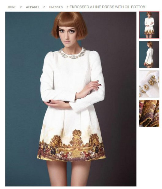 WHITE scuba full royal dress LMUW AVS