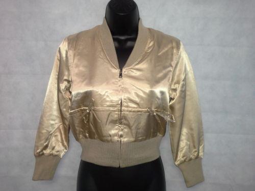 GOLD bomber jacket LMUW
