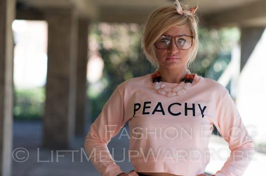 LMUW bomber polka dot metallics peachy lingerie-0158