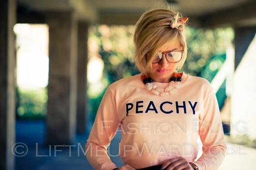 LMUW bomber polka dot metallics peachy lingerie-0165