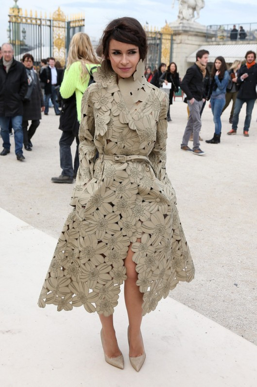 Miroslava Duna in Valentino trench inspo for LMUW
