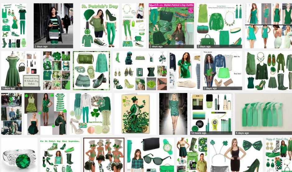 WEAR GREEN TODAY LMUW st patricks day