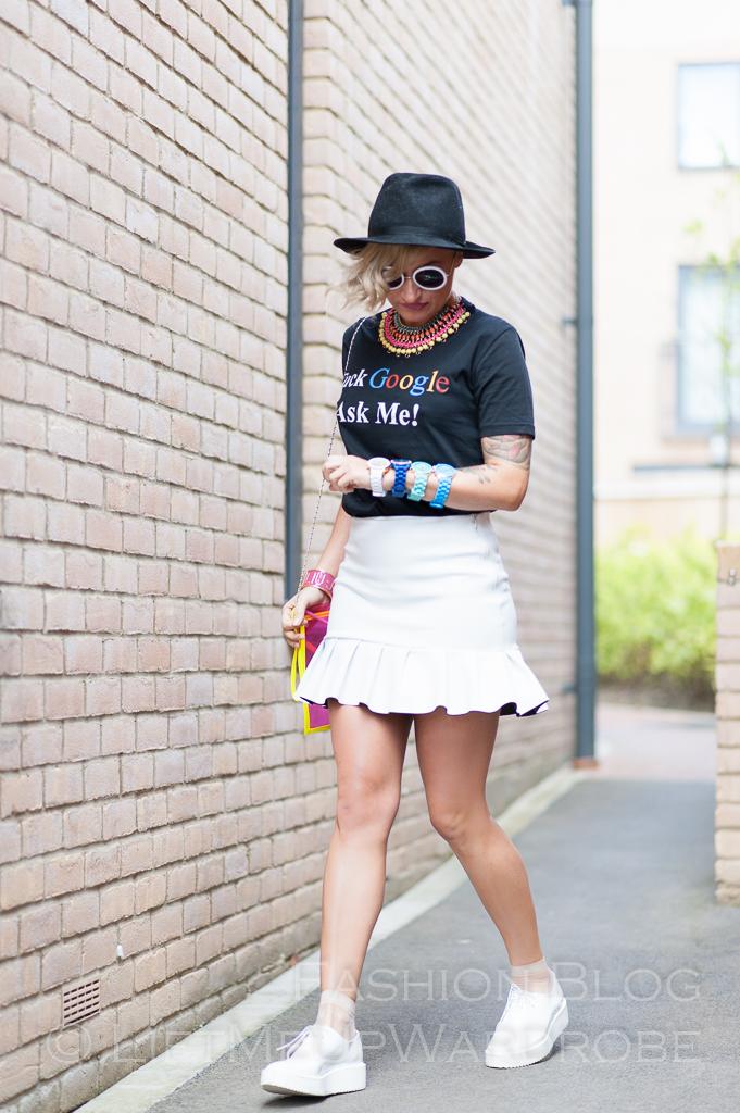 Agi Google boutique ralph hippie ruffle pointy LMUW-0122