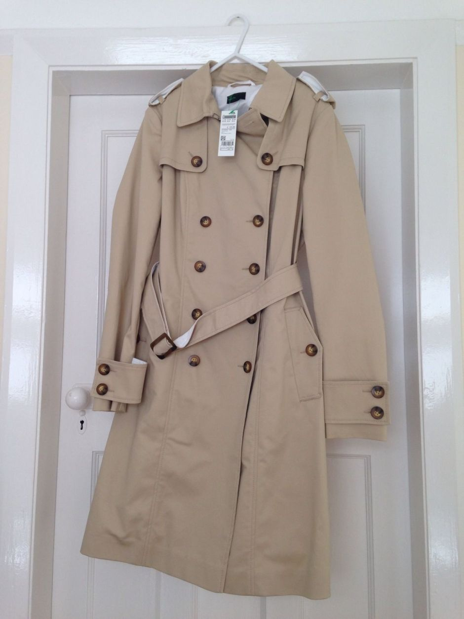UCB mac trench coat new collection 2014 sold out