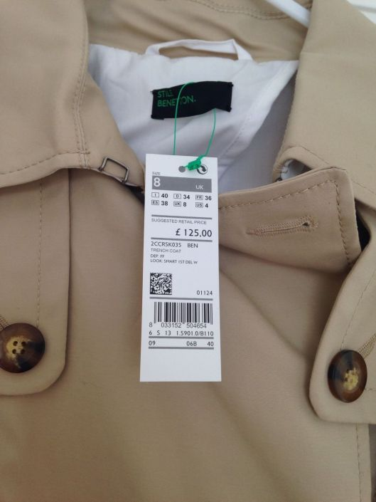 United colours of benetton mac trench coat LMUW fashion bloggers