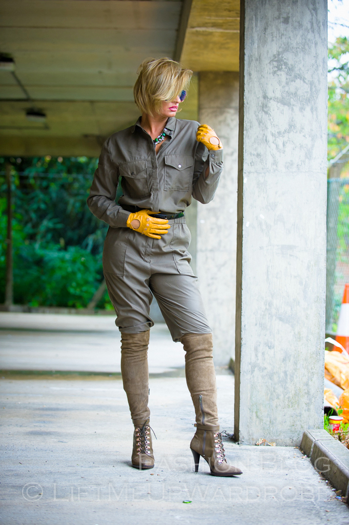 LMUW october fashion over the knee boots lingerie lace green khaki LV MK mac jumpsuit-0037