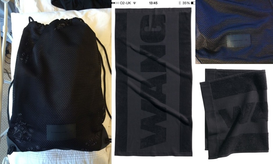 ALEXANDER WANG 2 towel set for sale