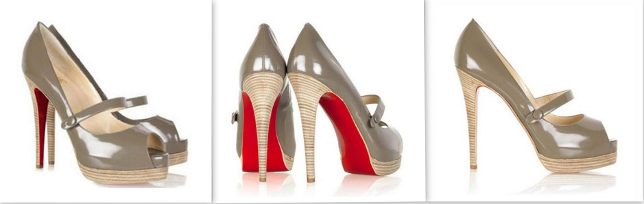 Grey -Leather peep-toe Mary-Jane_LMUW_avs_red_sole_jazz_no_barre