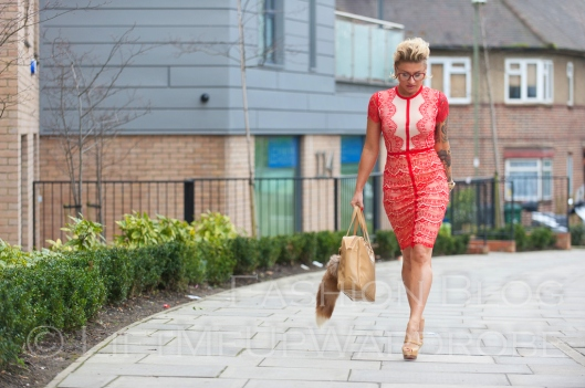 missguided SATSUKO LACE DRESS RED Christian Louboutin BAG charm FUR timberland 14-  bloggers zara studio red sole-0010