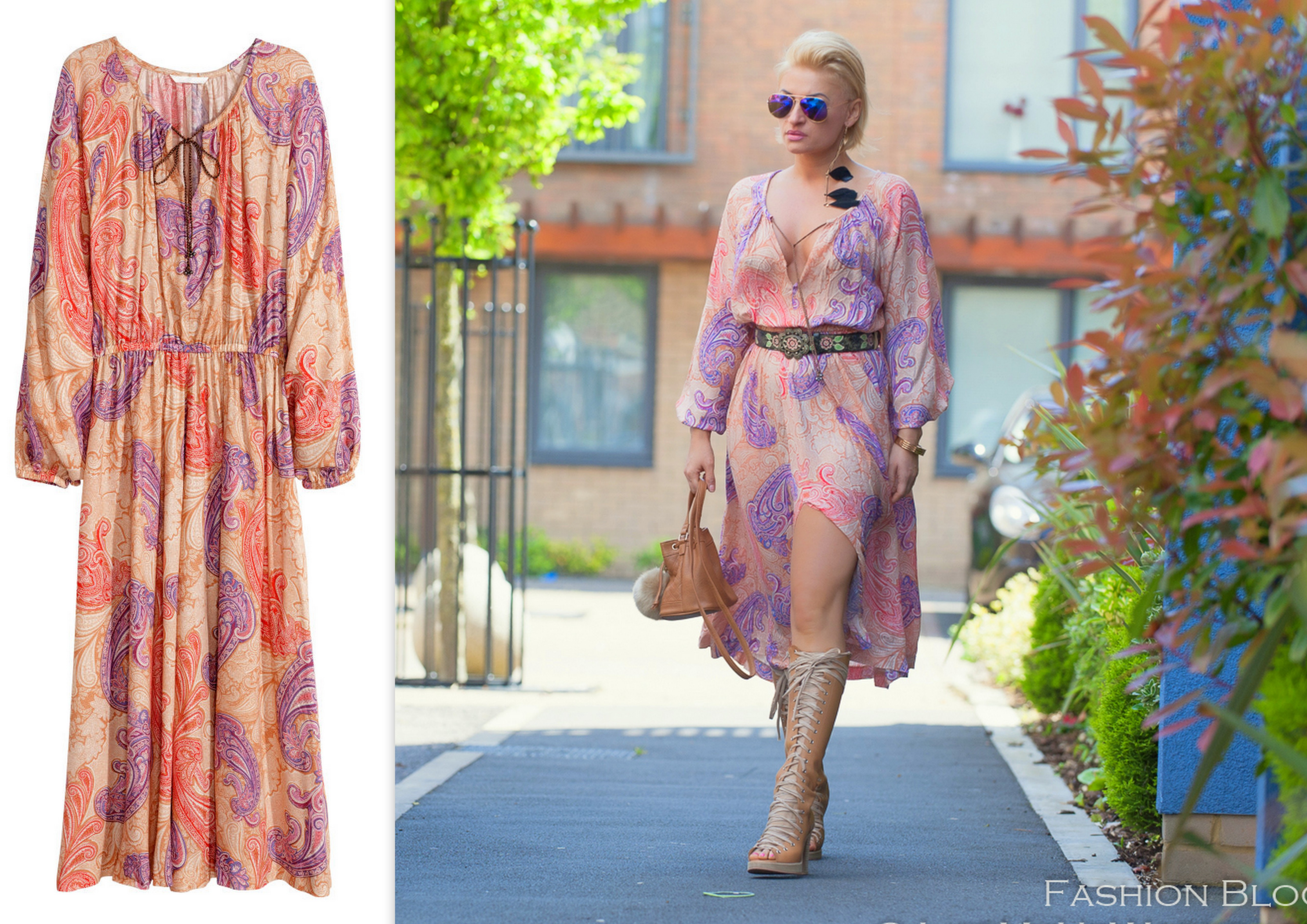 7086f838c6 Paisley beach kaftan dress HM summer collection LMUW AVS ! 201518 !