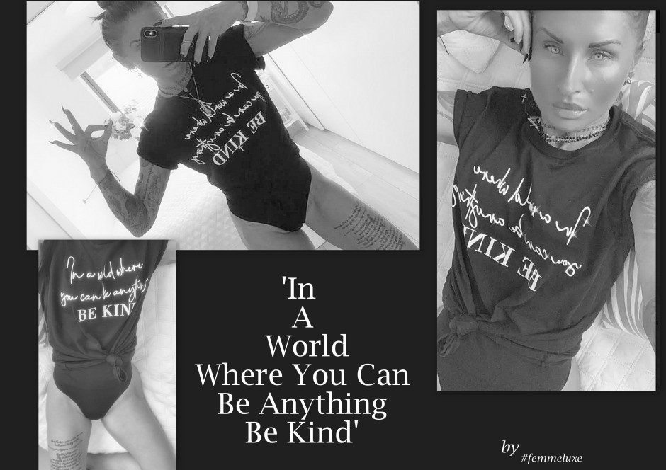 https://femmeluxe.co.uk/black-in-a-world-where-you-can-be-anything-be-kind-print-crew-neck-t-shirt-cordelia